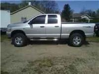2006 Dodge 2500 Diesel 4x4 with 160k miles on it. New