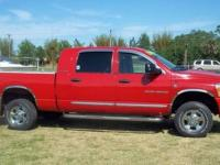 Absolutely beautiful 2006 Dodge 3500 Mega Cab Laramie ,