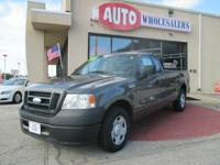 Nice. extremely inexpensive. 4x2 F150 work truck with