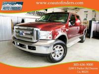 2006 Red Ford F350 King Ranch For Sale in
