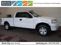 VALUE SMART 2006 FORD F150 STX SUPERCAB 4X4 with just