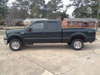 2006 Ford F250 Super Duty Crew Cab 4x4 XLT with 91,000
