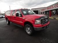 2006 FORD F350 CREW CAB 4X4 LARAIT LONG BED WITH THE