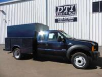Good Running Diesel Utility Truck. 2006 Ford F450 2006