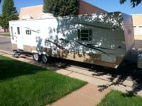 Very clean 31' x 8' Travel Trailer.  	Side slider