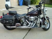 2006 Harley Davidson FLSTC Heritage Softail Classic . A