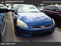 Looking for a clean, well-cared for 2006 Honda Accord