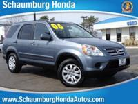 Recent Arrival! CARFAX One-Owner. 2006 Honda AWD CR-V
