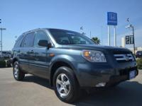 2006 Honda Pilot EX preowned gray suv for sale in
