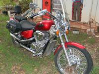 Description Make: Honda Model: Shadow 650 Condition:
