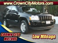 Low Mileage on this perfect Jeep Grand Cherokee. You