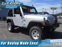 New Arrival! 4-WHEEL DRIVE, AND SOFT TOP CONVERTIBLE.