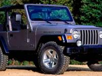CARFAX 1-Owner, ONLY 68,440 Miles! Rubicon trim.