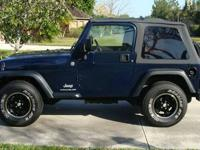 For sale is a 2006 Jeep Wrangler SE Sport Utility 2