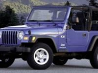 Looking for a clean, well-cared for 2006 Jeep Wrangler?