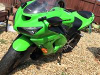 06 Kawasaki ninja, 19k miles, zx6r 636cc for sale. New