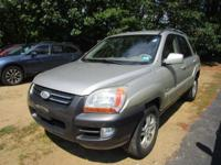 Take command of the road in the 2006 Kia Sportage! A