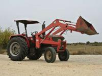 2006 Mahindra 6000 60hp Mahindra 6000 with Loader