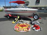 Really, extremely clean ski boat with great deals of