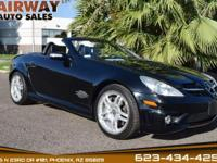 Our incredible 2006 Mercedes-Benz AMG SLK 55 in sporty