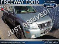 Silver Metallic Clearcoat Metallic 2006 Mercury Mariner