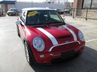 6 Speed Gorgeous Little Red 2006 Mini Cooper with