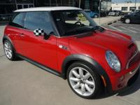 2006 Mini Cooper S completed in Chili Red, 6-Speed