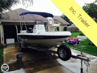 This 2006 Nautic Star 1900 Bay is a quality boat with