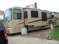 40' class A , diesel, 16,224 miles, chassis by