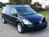 Veri good mini van, a/c super cool, have a dvd player,