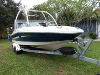 This 20 foot Sea Ray 195 Sport is a great boat that