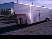 Like New 2006 Sprint 42' Enclosed Aluminum car trailer,