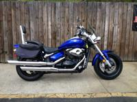 The Suzuki Boulevard M50 has performance to match its