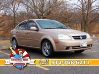 Options Included: N/AThis Suzuki Forenza is not only