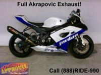 2006 Suzuki GSXR1000 Sport Bike - For sale with chrome