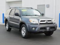 New Price! Clean CARFAX. This 2006 Toyota 4Runner SR5
