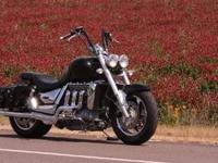 2006 original Triumph Rocket III. Well maintained