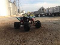 I am selling my yfz 450. Has aftermarket plastics