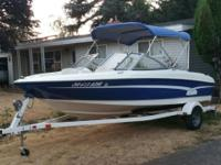 "This 17Ft 6"" 2007 Bayliner Bowrider 175 has been owned"