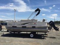 Apache SeaMaster Fiberglass Pontoon BoatsBased in