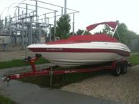 2007 Caravelle 207 Bowrider 1 owner just lowered from