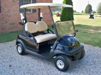 2011 Club Car Precedent Electric - Burgandy w/Beige
