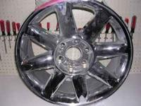 "1 TAKE OFF WHEEL 20"" AS NEW DENALI OR OTHER FACTORY GM"