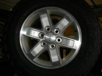 "2007-2013 Factory GMC Sierra 1500--17"" aluminum wheels"
