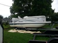 Stock Number: 722598. 2007 Hurricane 218RE Fun Deck