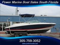 2007 22' Regal 2200 FasTrac Bowrider powered by a Volvo