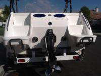 24 foot aftershock deck boat,383 WPM Racing small block