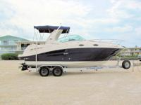 This 2007 28' Sea Ray 260 Sundancer is powered by a