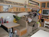 2007 30 Ft Jazz 5th wheel 2 slide outs Rear Kitchen