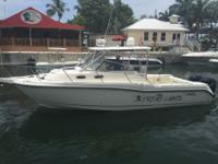 30 foot Boston Whaler Conquest. 2 Outboard Mercury